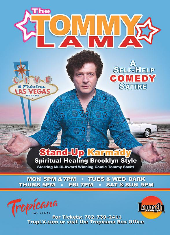 Tommy Lama debuts at Las Vegas Laugh Factory in Tropicana Las Vegas