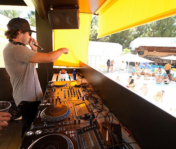 Brody Jenner Celebrates Birthday with a DJ Set at LIQUID Pool Lounge in Las Vegas