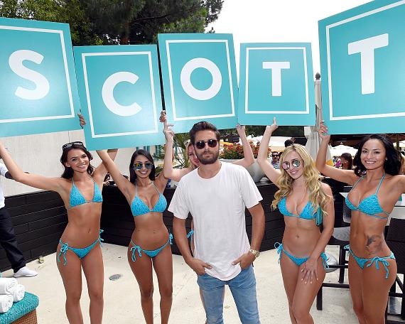 Scott Disick Hosts Exclusive Parties at LIQUID Pool Lounge and 1 OAK Nightclub in Las Vegas
