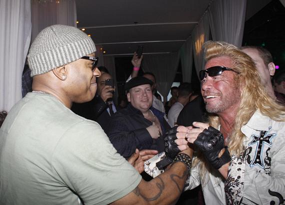 LL Cool J and Dog the Bounty Hunter