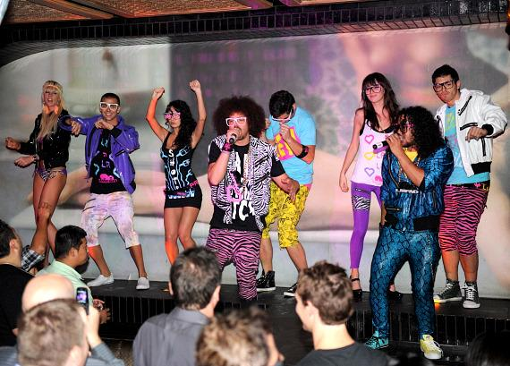 Lmfao Performs At Lavo