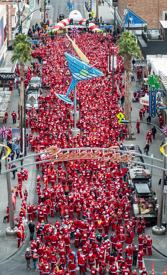"Opportunity Village's ""Las Vegas Great Santa Run"" Laces up for 2017 Season with Early Bird Registration Special"