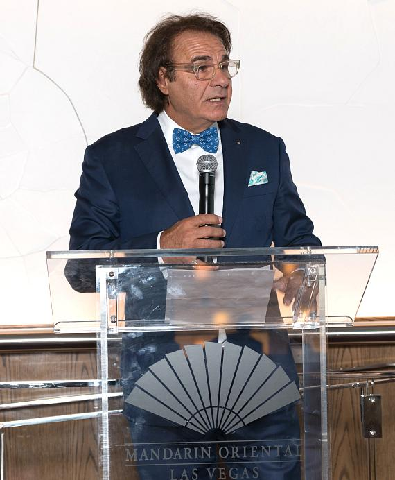 LVBA Founder and Chairman of the Board Rino Armeni