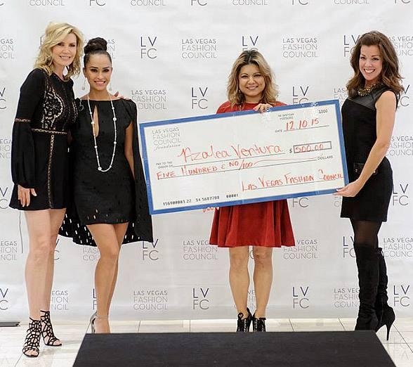 LVFC Little Black Dress Event Winner 2015 Azalea Ventura Receives Tuition Grant