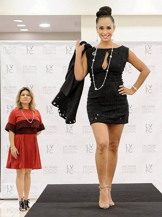 LVFC Little Black Dress Event - Winning Design Takes The Runway in 2015