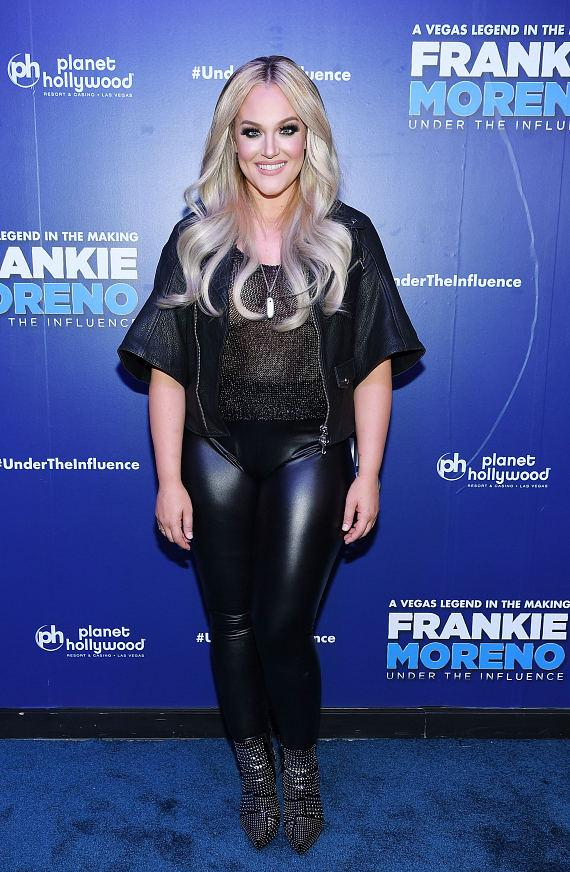 Lacey Schwimmer at Opening Night of FRANKIE MORENO - UNDER THE INFLUENCE at Planet Hollywood Resort & Casino