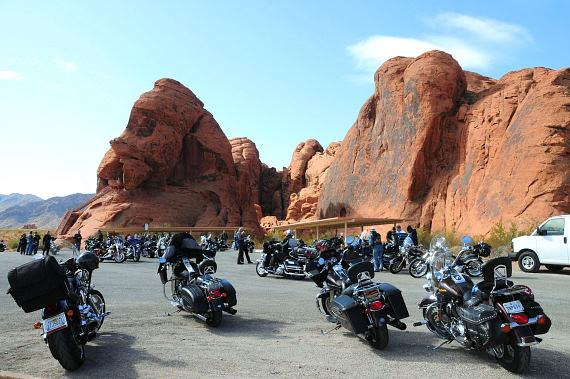 Las Vegas BikeFest Poker Run