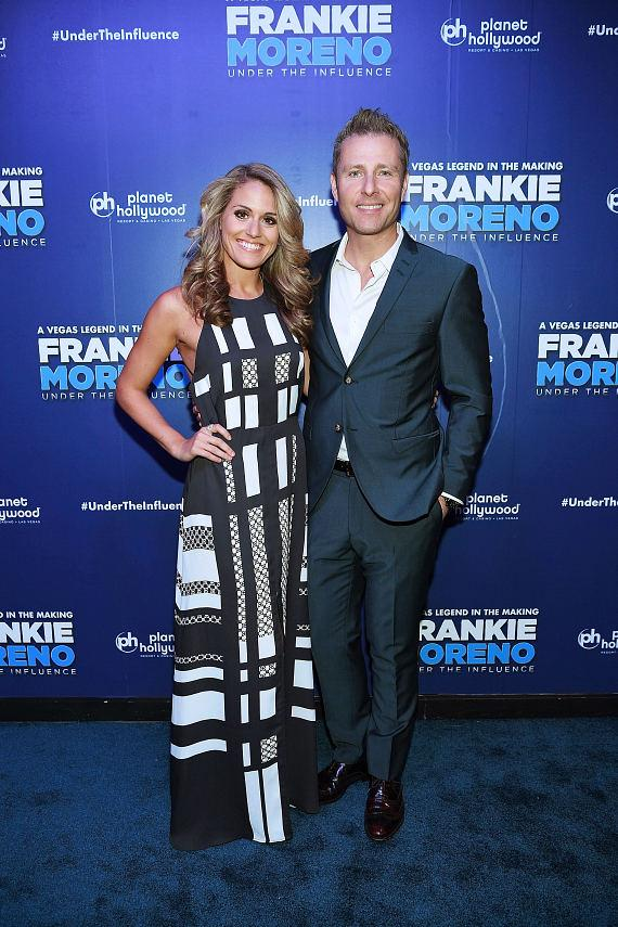 Las Vegas Headliner Paul Zerdin and Robyn Mellor at Opening Night of FRANKIE MORENO - UNDER THE INFLUENCE at Planet Hollywood Resort & Casino