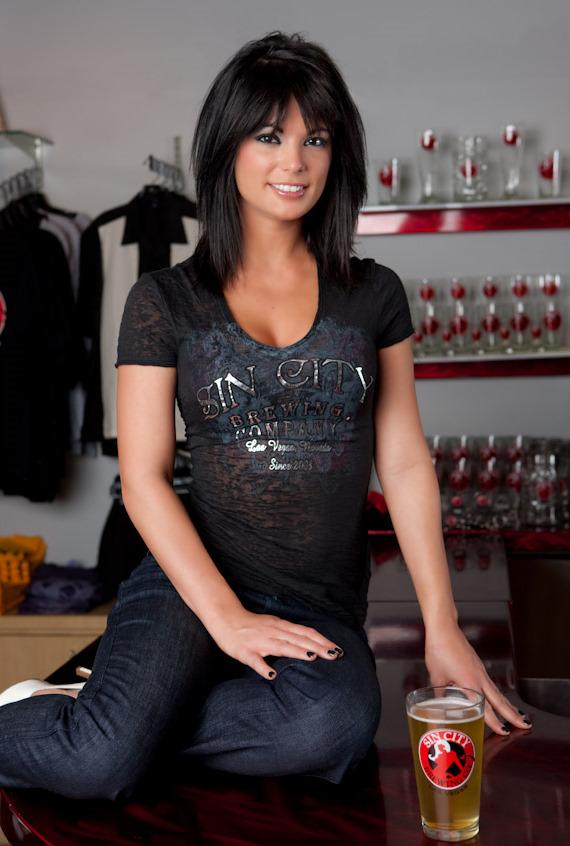 Laura Croft visits Sin City Brewing Co.