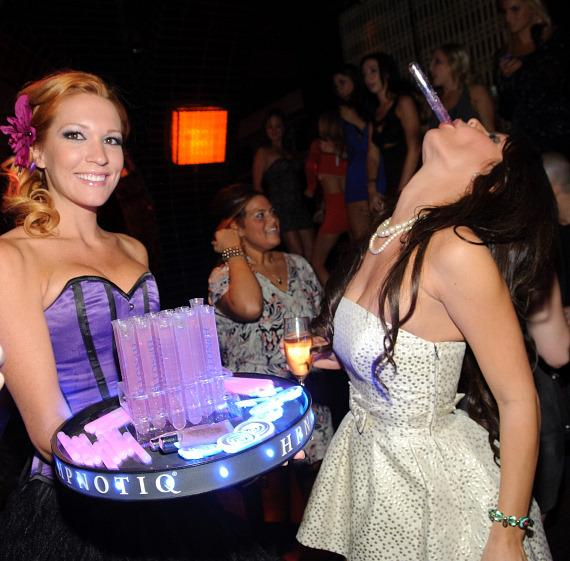 Laura Croft hosts party at LAVO in celebration of opening of Night School 4 Girls