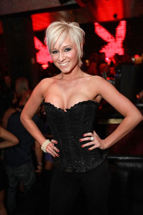 Laura Moore named Miss Playboy Club April 2010