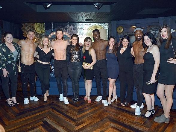 Actress Lauren Ash Spotted at Magic Mike Live at Hard Rock Hotel Las Vegas