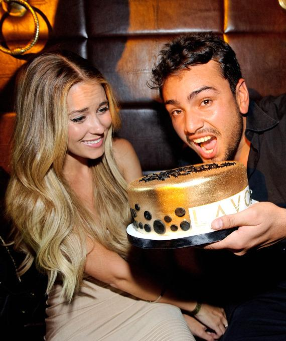 Lauren Conrad and Frankie Delgado at LAVO