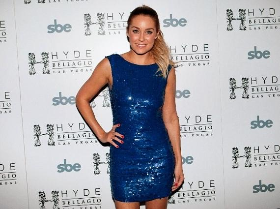 Lauren Conrad on red carpet at Hyde Bellagio, Las Vegas