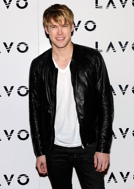 Chord Overstreet on red carpet at LAVO