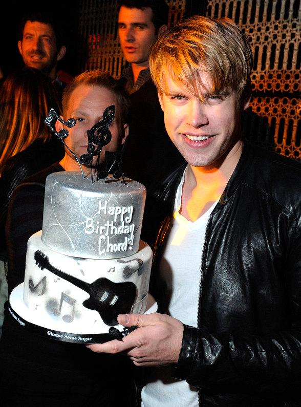 Chord Overstreet Celebrates 23rd Birthday at LAVO