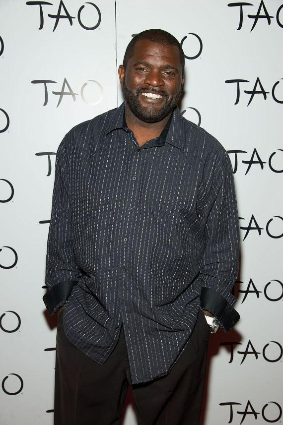 Lawrence Taylor on TAO Red Carpet