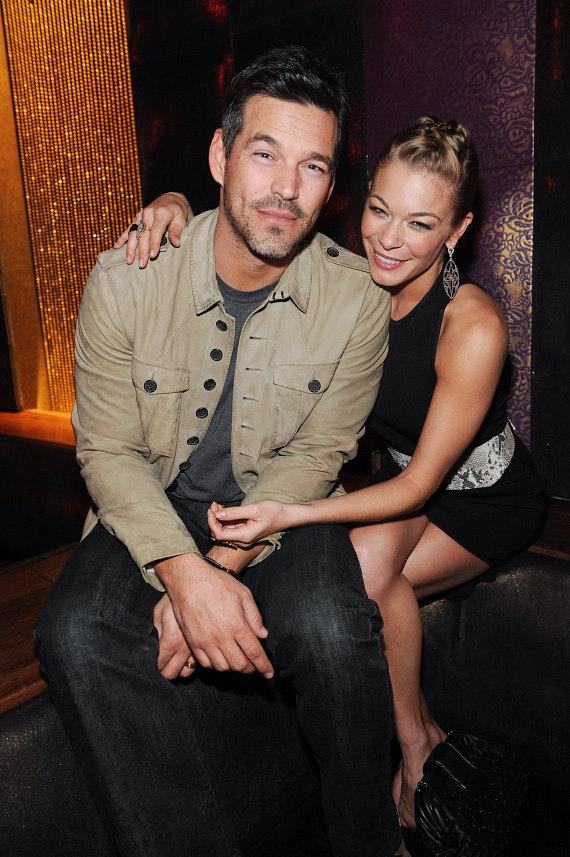 LeAnn Rimes and Eddie Cibrian at Marquee