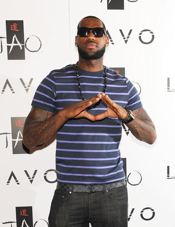 LeBron James at LAVO
