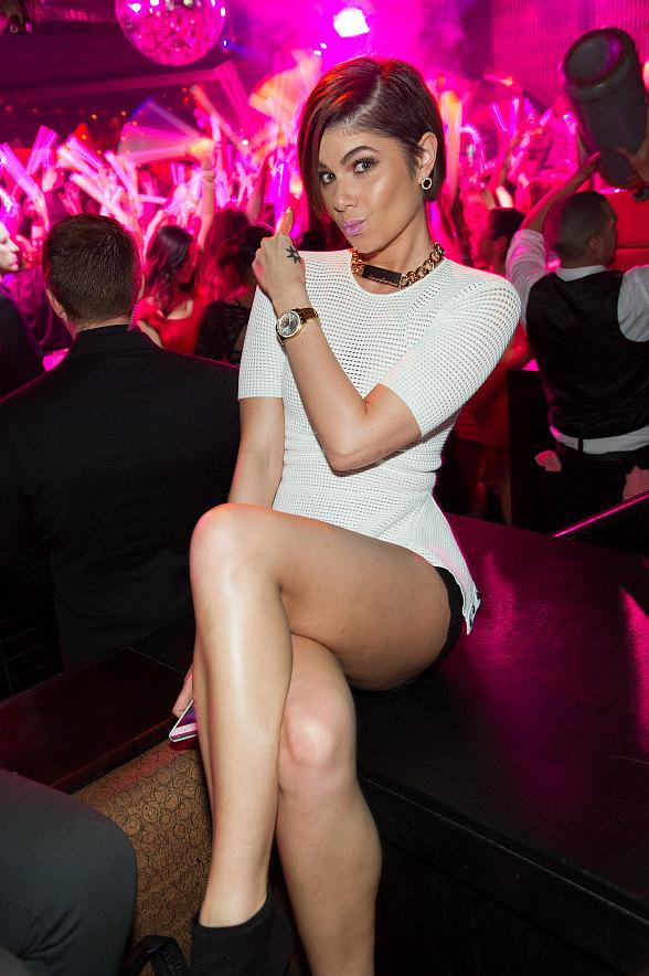 R&B Artist Leah Labelle Makes Special Appearance at LAVO in Las Vegas