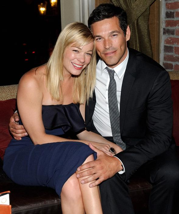 LeAnn Rimes and Eddie Cibrian at LAVO
