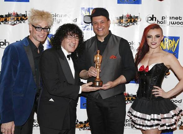 Douglas 'Lefty' Leferovich gets World Champion Magician Award for Manipulation from International Magicians Society