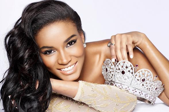 Leila Lopes, Miss Universe 2011, made history as the first woman from Angola to win the Miss Universe crown.