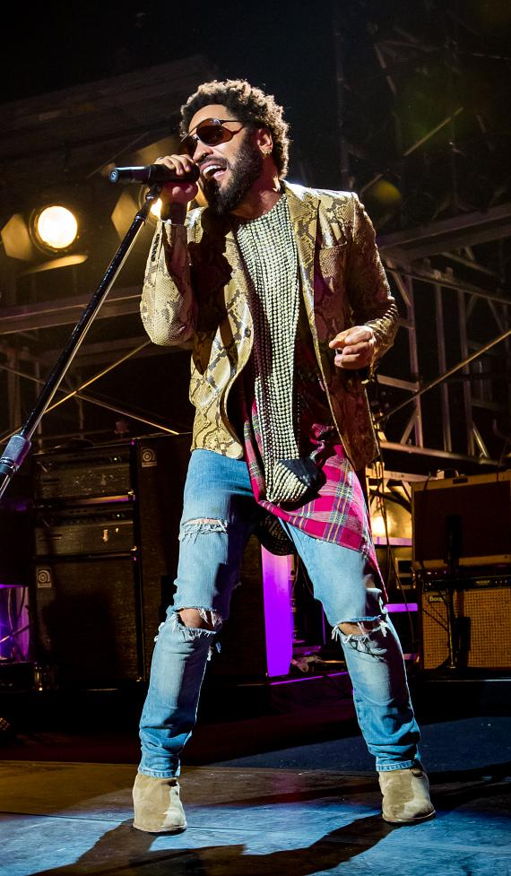 Lenny Kravitz performs at The Chelsea at The Cosmopolitan of Las Vegas