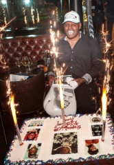 Former Heavyweight Boxing Champion Leon Spinks Celebrates 65th Birthday at Sugar Factory