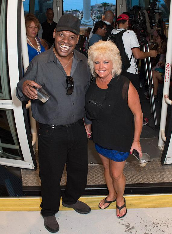 Former Heavyweight Boxing Champion Leon Spinks