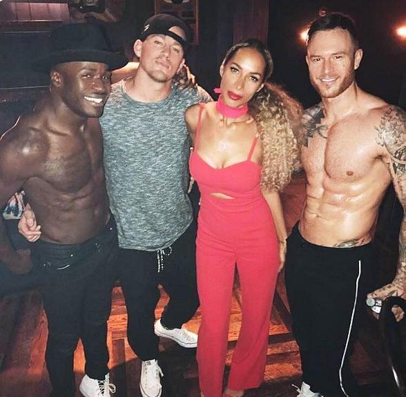 "Leona Lewis Celebrates Birthday at ""Magic Mike Live Las Vegas"""