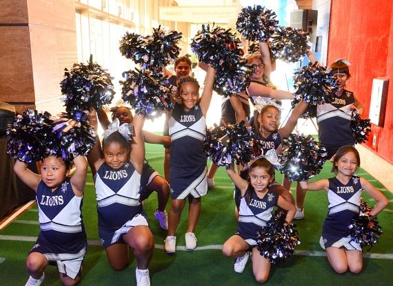 Lied Clubhouse Cheer Team