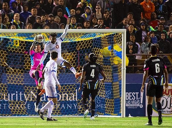 Lights FC Kicks Things off at Cashman Field in Style in Front of Sellout Crowd of 10,387