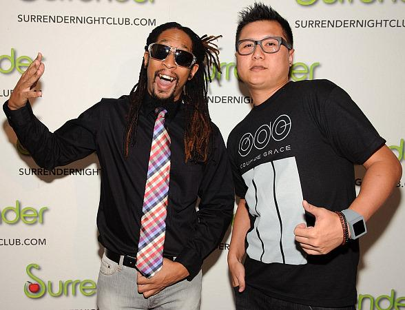 Lil Jon and DJ Innovate at Surrender