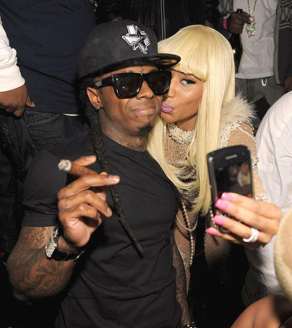 Lil Wayne and Nicki Minaj at TAO in Las Vegas
