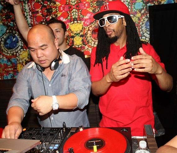 DJ Five and Lil Jon at Vanity