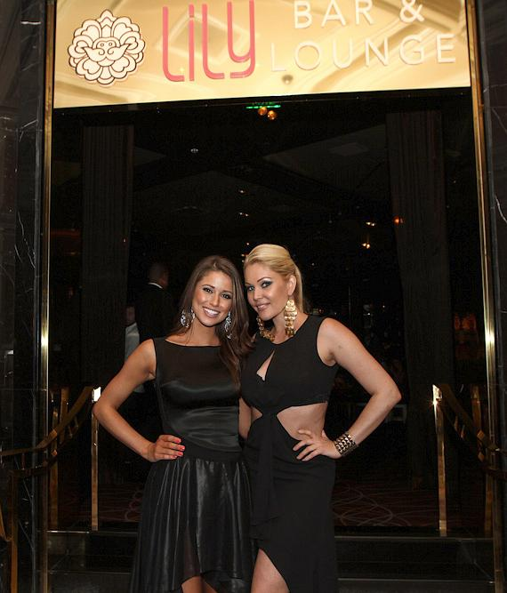 Miss USA and Shanna Moakler at Lily Bar & Grill