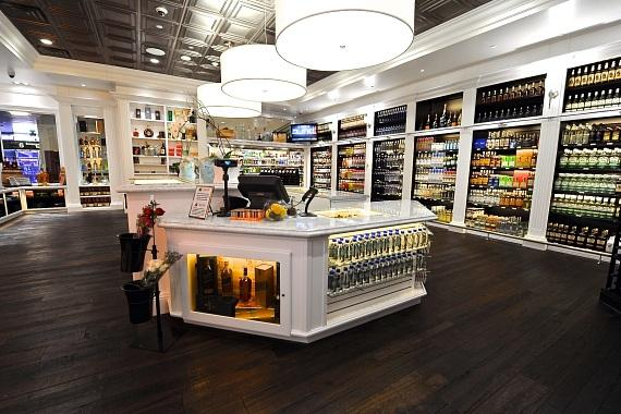 liquor library first airport baggage claim liquor store in u s to open at mccarran int 39 l airport. Black Bedroom Furniture Sets. Home Design Ideas
