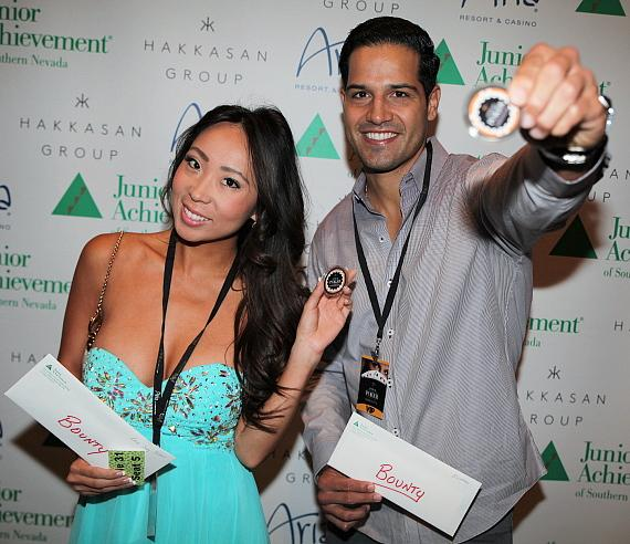 Lisa Song Sutton and Ricardo Laguna at last year's event