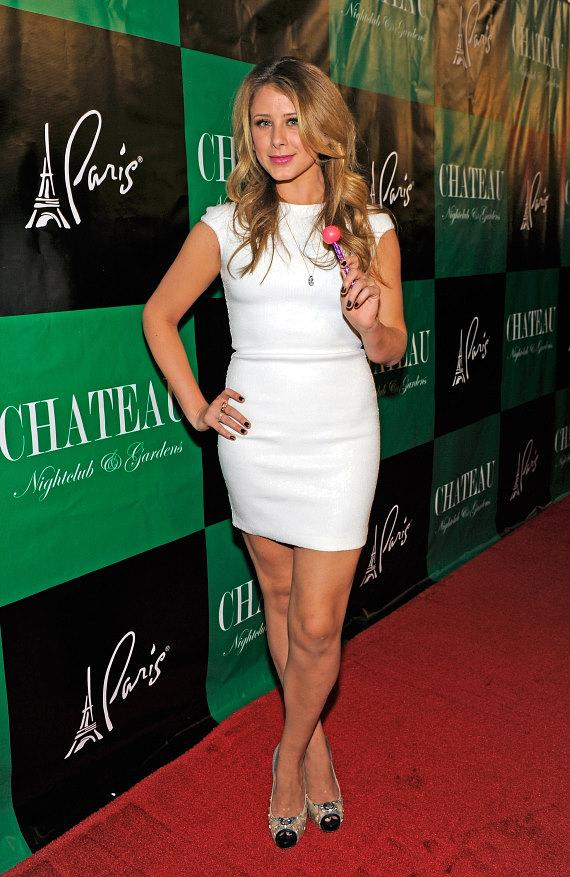 "Lauren ""Lo"" Bosworth with Sugar Factory Couture Pop at Chateau Nightclub & Gardens"