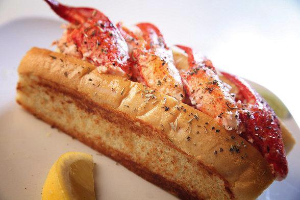 The Original Maine Style Lobster Roll