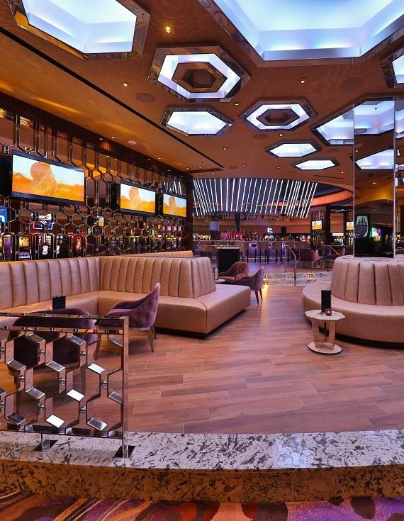 Lounge Area at Center Bar