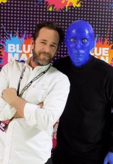 Luke Perry spotted at Blue Man Group Las Vegas