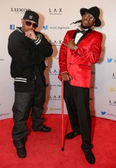 Hip-Hop Duo Luniz Rocks the House at LAX Nightclub inside Luxor Hotel and Casino in Las Vegas