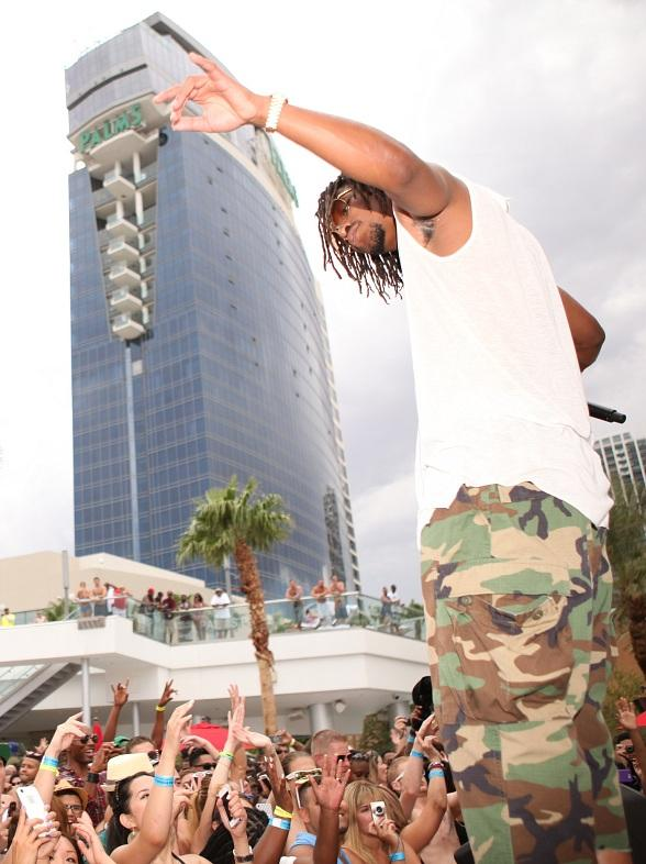 "Lupe Fiasco Performs at ""Ditch Fridays"" at Palms Pool in Las Vegas"