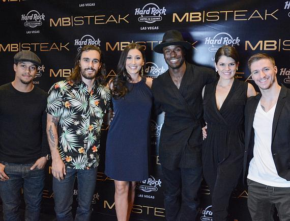 MB Steak - Cast of Magic Mike Live