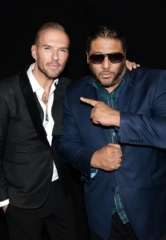 R&B Singer and Producer Al B. Sure Attends Matt Goss at 1 OAK Nightclub in The Mirage Las Vegas