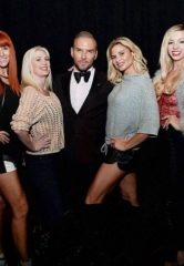Cast of Crazy Girls, Magician Murray SawChuck and Referee Joe Cortez Attend Matt Goss at The Mirage Las Vegas