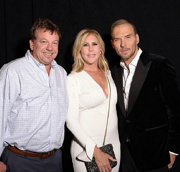 Real Housewives of Orange County Star Vicki Gunvalson and Her Brother, Billy Steinmetz, Attend Matt Goss' Show at The Mirage Las Vegas