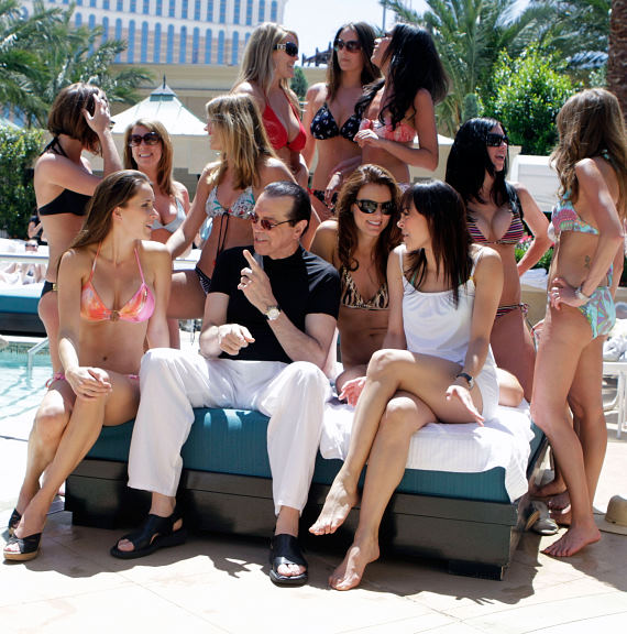 Chazz Palminteri at AZURE Pool at The Palazzo